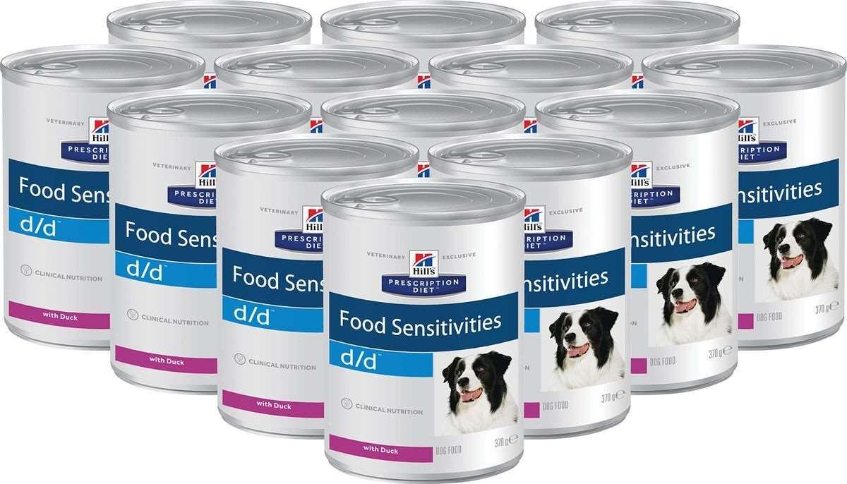 лечебный корм для собак Хиллс Canine z/d ULTRA Allergen-Free